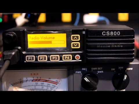 ham radio 2 0 episode 6 unboxing the connect systems cs800 mobile dmr radio youtube. Black Bedroom Furniture Sets. Home Design Ideas
