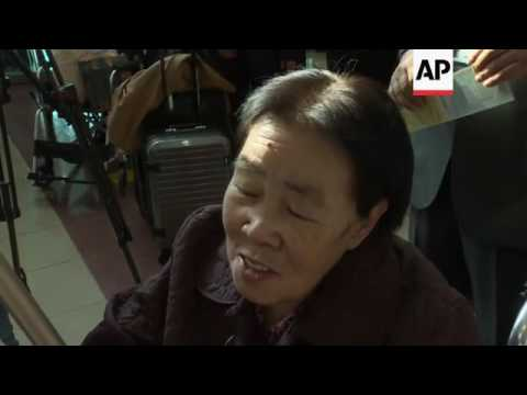 South Koreans go to North Korea for reunion