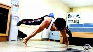 THE BEST STREET WORKOUT IN THE WORLD 2014