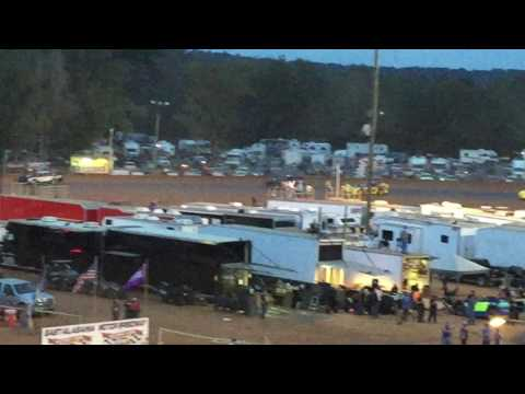East Alabama Motor Speedway National 100 Bomber Final Lap