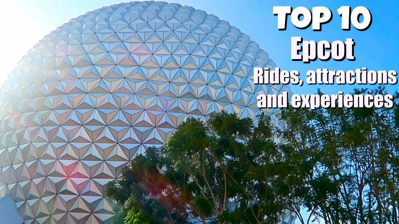 Best Rides Epcot Disney