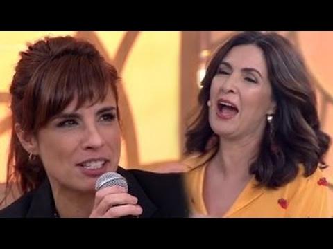 Fátima Bernardes fica em Saia Justa com cantada Lésbicas de Maria Ribeiro Encontro 06032