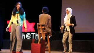 Logic vs. Imagination: Salma Ehab & Mariam Ezzat at TEDxYouth@TheNile