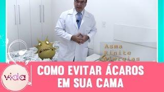 Dicas do Dr. Bactéria: Como evitar ácaros em sua cama - Vida Melhor 24/02/2017