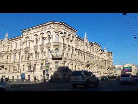 Казанская улица, Невский проспект, Литейный проспект, Шпалерная улица, Смольный собор