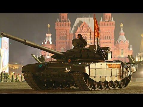 Репетиция Парада Победы в Москве от 29.04.21