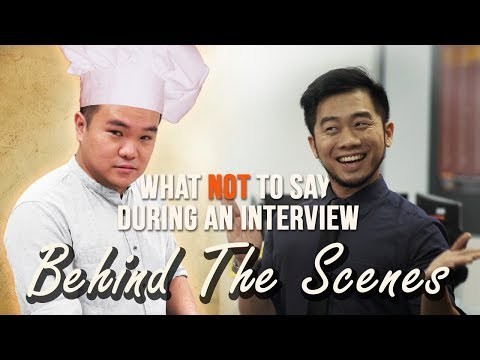 What Not To Say In A Job Interview - Behind The Scenes streaming vf