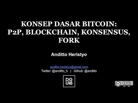 Konsep Dasar Bitcoin: P2P, Blockchain, Konsensus, Fork