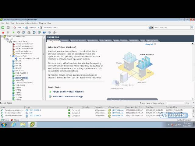 VMWare Training: 1-06 Options for putting OS on Virtual Server