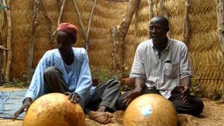 Local Cameroonian Music with Calabash Instruments
