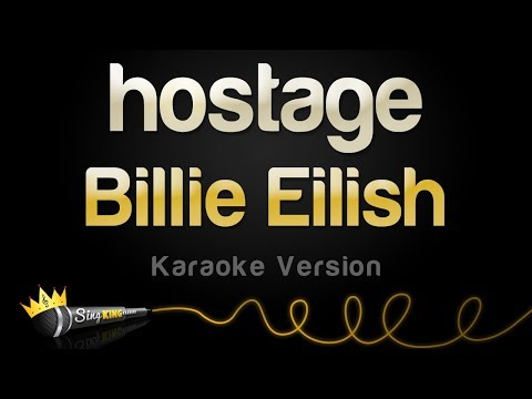 Billie Eilish - hostage (Karaoke Version)