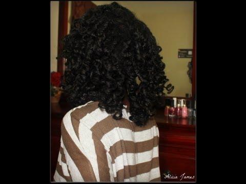 No Heat Curls - Two Strand Twist/Braids