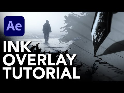 Create an Ink Overlay Transition in After Effects - Tutorial