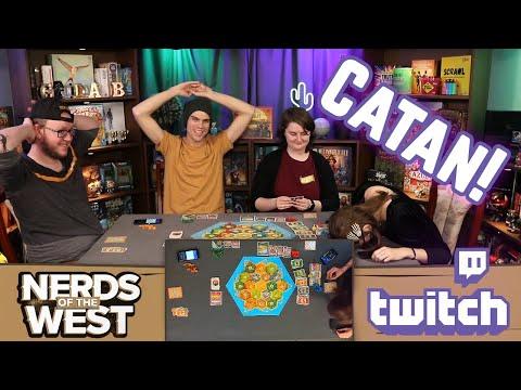 Catan and Skull | Live Stream