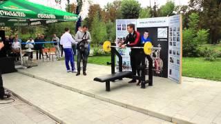Чемпионат по жиму лежа 50 кг на максимумм