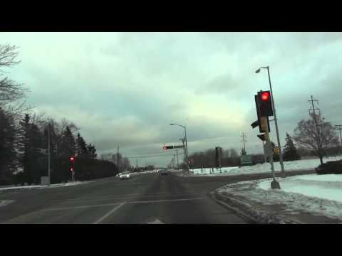 Duluth, MN to Superior, WI - Drive around Superior Road Trip