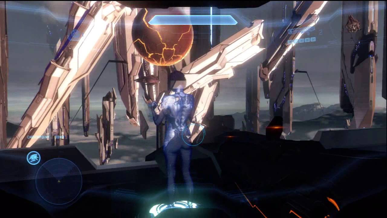 "Halo 4 - Shutdown Chap, ""Shutdown"" Achievement, ""Jump ..."