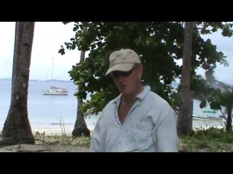 Kokomo - Isla Gamez - dinghy anchoring