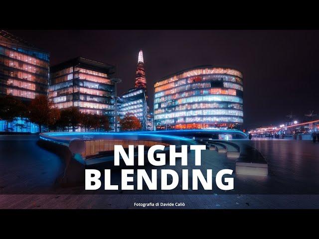 HDR Blending - Multi Esposizione Notturna - Photoshop e TMPanel V4