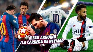 La TRISTE razón por la que Messi ARRUINÓ la CARRERA de Neymar