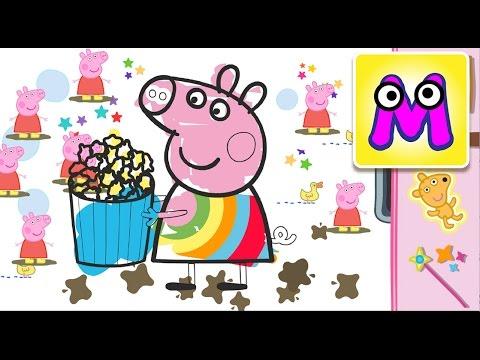 Игры свинка пеппа мультики раскраска