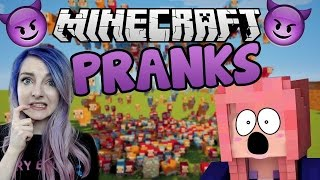 Disaster!! | Minecraft Server Pranks Gone Wrong