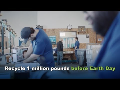 Why Recycle 1 Million Pounds of Electronics?