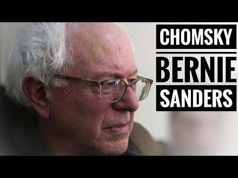 Noam Chomsky on Bernie Sanders' foreign policy & Tulsi Gabbard