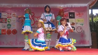 Video Aquashine (Love Live Sunshine Cosplay Dance Cover) Perform at STIKI INDONESIA (Bali) SinFest 2018 download MP3, 3GP, MP4, WEBM, AVI, FLV Juli 2018