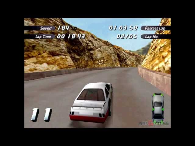 Destruction Derby 2 - Gameplay PSX (PS One) HD 720P (Playstation classics)