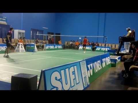 Azeem Sarwar vs Amir Saeed Pakistan National Badminton Championship 2013