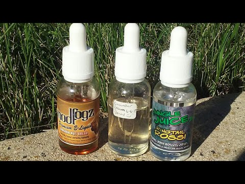 Jungle juice Ringtail Rossi, Mod Fogz Banana but bread and Cucumber dream (preview) by Vapor Krave