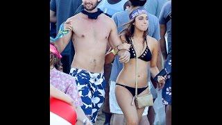 Patrick Schwarzenegger Does Body Shots Off Bikini-Clad Mystery Girl on Spring Break in Cabo