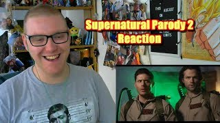 Reacting To - Supernatural Parody 2 by The Hillywood Show