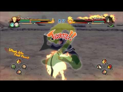 Naruto Shippuden Ultimate Ninja Storm Revolution naruto vs madara