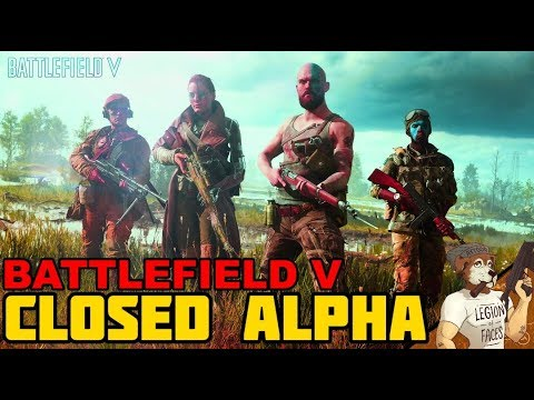 BATTLEFIELD V || CLOSED ALPHA || Progressions and New Features! thumbnail