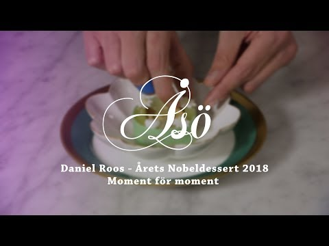 NOBELDESSERTEN 2018 - Moment för moment