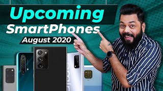 Top 10+ Best Upcoming Mobile Phone Launches ⚡⚡⚡August 2020