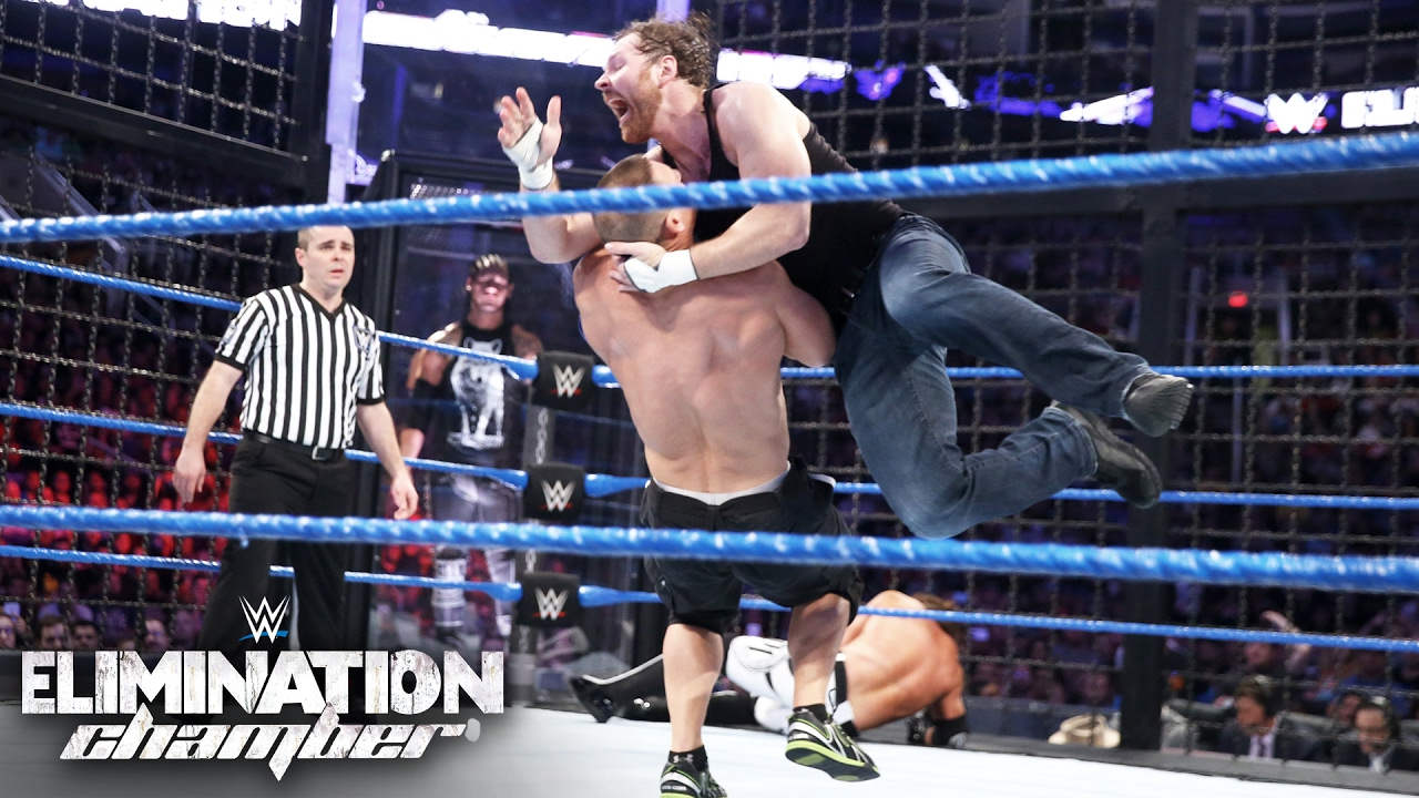 Download WWE Title competitors clash while surrounded by unforgiving steel: Elimination Chamber 2017