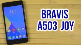 Распаковка Bravis A503 Joy Dual Sim Black