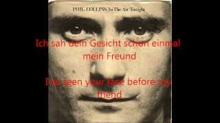 Phil Collins - In The Air Tonight [Deutsch/English-Lyrics] [HQ] (LONG VERSION)