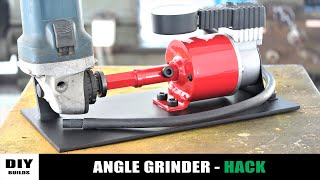 Angle Grinder HACK - Air Compressor | DIY