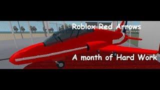 RAF Roblox Red Arrows - Ein Monat harter Arbeit