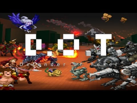 D.O.T. Defender of Texel (RPG) - iPhone/iPod Touch/iPad - HD Gameplay Trailer