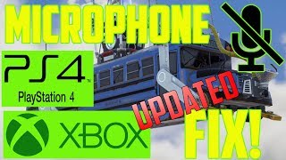 Fortnite Voice Chat Not Working PS4 & Xbox 2018 *UPDATED*