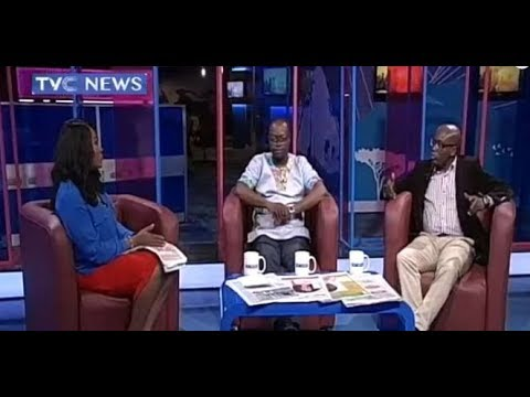 Newspaper Review with Mike Okwoche and Veronica Dan-Ikpoyi