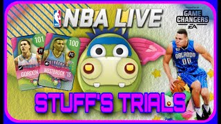 NBA  LIVE MOBILE S4 - STUFFS TRIALS AND PACKS