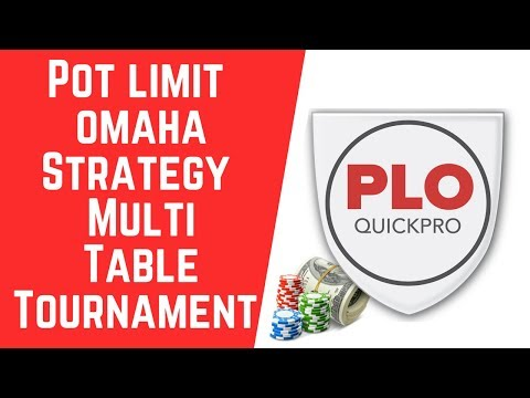 Best PLO MTT Strategy Tips For SCOOP and WSOP