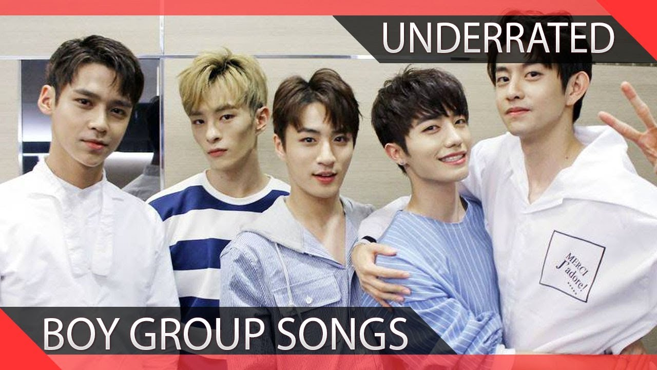 20 Super Underrated Kpop Boy Group Songs  Youtube