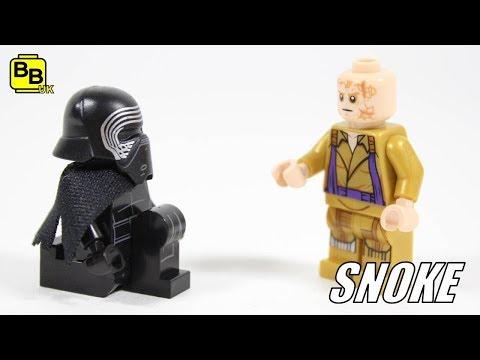 LEGO STAR WARS SUPREME LEADER SNOKE MINIFIGURE CREATION
